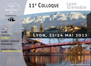 11e colloque - Lyon 2013