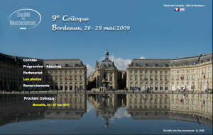 9eColloque - Bordeaux 2009