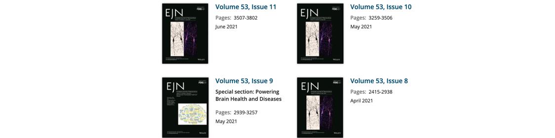 Les avantages de publier dans le European Journal of Neuroscience (EJN)